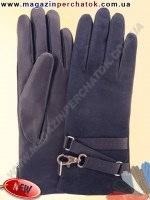 Модель № 412 Перчатки женские из натуральной кожи на шерстяной подкладке. Кожа производства Италии.