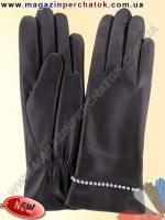 Модель № 416 Перчатки женские из натуральной кожи на шерстяной подкладке. Кожа производства Италии.
