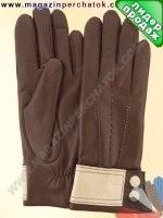 Модель № 418 Перчатки женские из натуральной кожи на шерстяной подкладке. Кожа производства Италии.