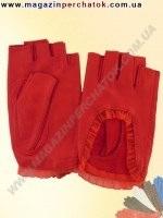 Перчатки женские из натуральной кожи без подкладки. Кожа производства Италии. Модель № 267