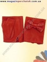 Распродажа. Перчатки женские из натуральной кожи без подкладки. Кожа производства Италии. Модель № 339