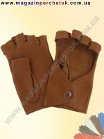 Модель № 243 Перчатки женские из натуральной кожи без подкладки. Кожа производства Италии.
