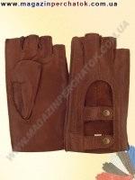 Распродажа. Перчатки женские из натуральной кожи без подкладки. Кожа производства Италии. Модель № 348