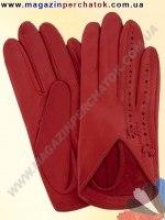 Модель № 247 Перчатки женские из натуральной кожи без подкладки. Кожа производства Италии.