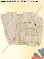 Распродажа. Перчатки женские из натуральной кожи без подкладки. Кожа производства Италии. Модель № 244