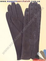 Модель № 248 Перчатки женские из натуральной кожи без подкладки. Кожа производства Италии.