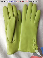 Модель № 423 Перчатки женские из натуральной кожи на подкладке из натурального меха. Кожа производства Италии..