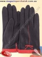 Модель № 424 Перчатки женские из натуральной кожи на шелковой подкладке. Кожа производства Италии.