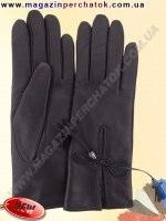 Модель № 426 Перчатки женские из натуральной кожи на шерстяной подкладке. Кожа производства Италии.