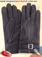 Модель № 428 Перчатки мужские из натуральной кожи на шерстяной подкладке. Кожа производства Италии.