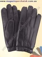 Модель № 429 Перчатки мужские из натуральной кожи на шерстяной подкладке. Кожа производства Италии.