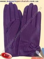 Модель № 433 Перчатки женские из натуральной кожи без подкладки. Кожа производства Италии.