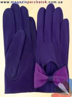 Модель № 434 Перчатки женские из натуральной кожи без подкладки. Кожа производства Италии.