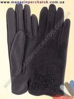 Модель № 258 Перчатки женские из натуральной кожи без подкладки. Кожа производства Италии.
