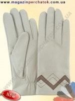 Модель № 438 Перчатки женские из натуральной кожи на шерстяной подкладке. Кожа производства Италии.