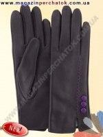 Модель № 440 Перчатки женские из натуральной кожи на шерстяной подкладке. Кожа производства Италии.