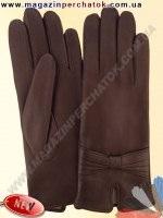 Модель № 441 Перчатки женские из натуральной кожи на шерстяной подкладке. Кожа производства Италии.