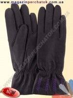 Модель № 442 Перчатки женские из натуральной кожи на шерстяной подкладке. Кожа производства Италии.