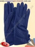 Модель № 443 Перчатки женские из натуральной кожи на шерстяной подкладке. Кожа производства Италии.