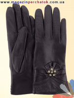 Модель № 446 Перчатки женские из натуральной кожи на шерстяной подкладке. Кожа производства Италии.