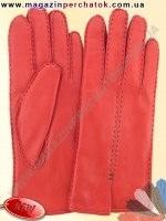 Модель № 448 Перчатки женские из натуральной кожи на шерстяной подкладке. Кожа производства Италии.