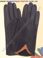 Модель № 002 Перчатки женские из натуральной кожи без подкладки. Кожа производства Италии.