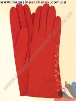 Модель № 262 Перчатки женские из натуральной кожи без подкладки. Кожа производства Италии.