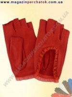 Модель № 267 Перчатки женские из натуральной кожи без подкладки. Кожа производства Италии.