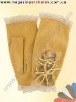 Модель № 278 Перчатки женские из натуральной кожи без подкладки. Кожа производства Италии.