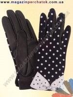 Модель № 281 Перчатки женские из натуральной кожи без подкладки. Кожа производства Италии.