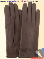 Модель № 021 Перчатки женские из натуральной кожи на шерстяной подкладке. Кожа производства Италии.