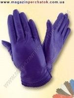 Модель № 217 Перчатки женские из натуральной кожи без подкладки. Кожа производства Италии.