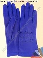 Модель № 302 Перчатки женские из натуральной кожи без подкладки. Кожа производства Италии.