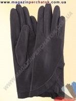 Модель № 301 Перчатки женские из натуральной кожи без подкладки. Кожа производства Италии.
