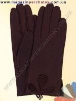 Модель № 303 Перчатки женские из натуральной кожи без подкладки. Кожа производства Италии.