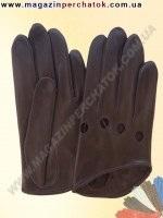 Модель № 317 Перчатки женские из натуральной кожи без подкладки. Кожа производства Италии.