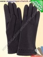 Модель № 003 Перчатки женские из натуральной кожи на шерстяной подкладке. Кожа производства Италии.