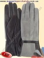 Модель № 457 Перчатки женские из натуральной кожи на шерстяной подкладке. Кожа производства Италии.