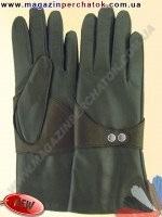 Модель № 458 Перчатки женские из натуральной кожи на шерстяной подкладке. Кожа производства Италии.