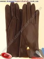 Модель № 453 Перчатки женские из натуральной кожи на шерстяной подкладке. Кожа производства Италии.