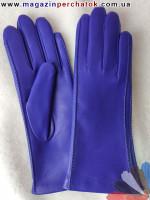 Модель № 026 Перчатки женские из натуральной кожи на шерстяной подкладке. Кожа производства Италии.