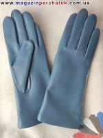 Модель № 029 Перчатки женские из натуральной кожи на шерстяной подкладке. Кожа производства Италии.