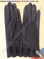 Модель № 009 Перчатки женские из натуральной кожи без подкладки. Кожа производства Италии.