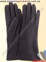 Модель № 042 Перчатки женские из натуральной кожи на шерстяной подкладке. Кожа производства Италии.