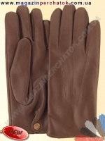 Модель № 461 Перчатки мужские из натуральной кожи на шерстяной подкладке. Кожа производства Италии.
