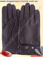 Модель № 463 Перчатки мужские из натуральной кожи на шерстяной подкладке. Кожа производства Италии.