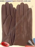 Модель № 464 Перчатки мужские из натуральной кожи на шерстяной подкладке. Кожа производства Италии.