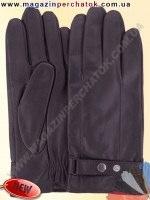 Модель № 466 Перчатки мужские из натуральной кожи на шерстяной подкладке. Кожа производства Италии.