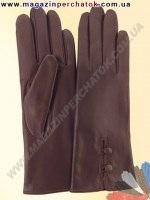 Модель № 046 Перчатки женские из натуральной кожи на шерстяной подкладке. Кожа производства Италии.