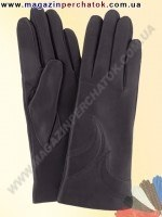 Модель № 144 Перчатки женские из натуральной кожи на шерстяной подкладке. Кожа производства Италии.